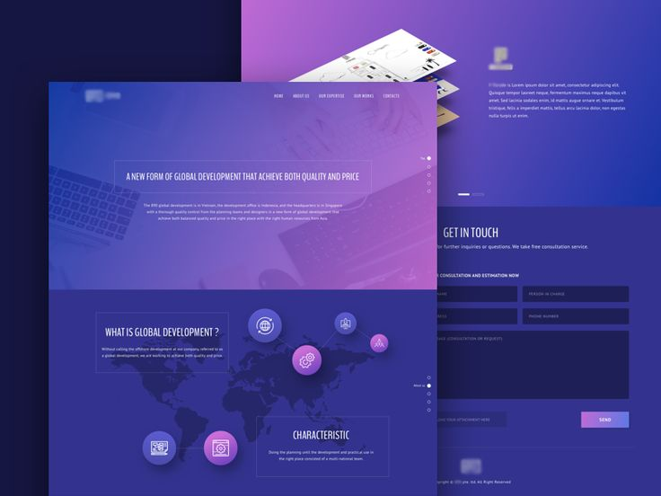 Landing Page Redesign Concept by Aji Darmawan