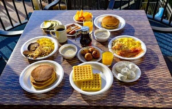 Complimentary Hot Breakfast At Monterey Bay In Myrtle Beach Hotel