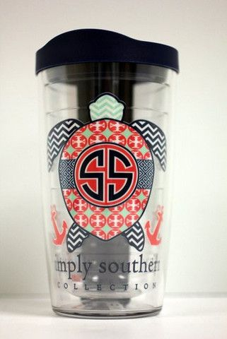 Simply Southern 16 oz. Turtle Tervis Tumbler with Lid