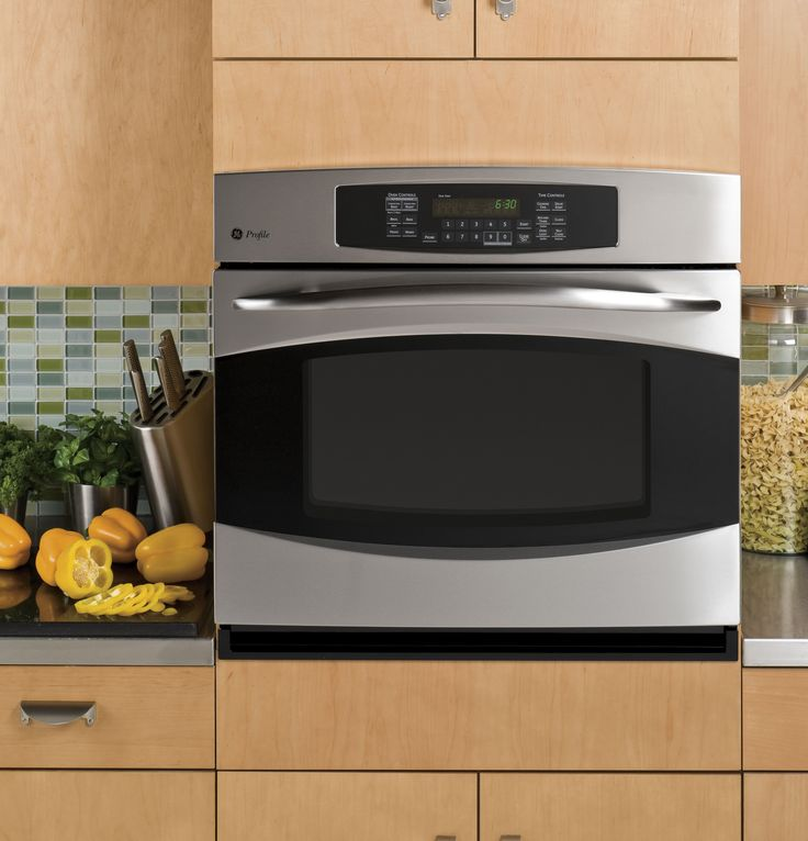 """+++ PT916SRSS   GE Profile™ 30"""" Built-In Single Convection Wall Oven   GE Appliances"""