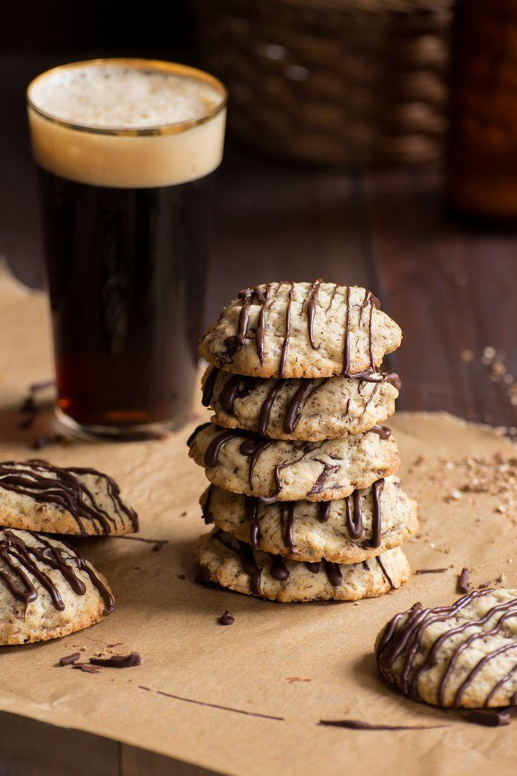 Spent grain chocolate chip cookies / Ciastka z czekoladą i młótem #spentgrain #cookies #mloto #ciastka #beer #piwo