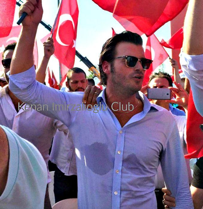 #kenaİmirzalıoğlu and #KıvançTatlıtuğ at #Yenikapı (7/8/2016).