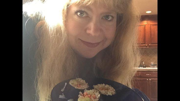 How to Make Vegan Sushi!  Recipe and Muk-bang