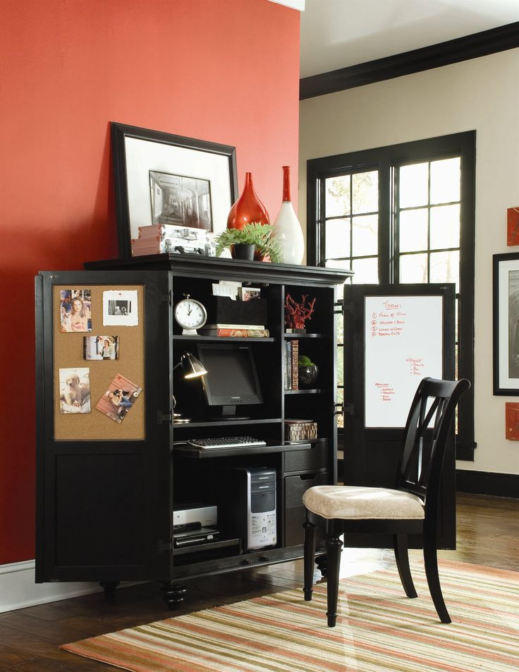 hammary camden dark home office cabinet hm919944 for the home pinterest
