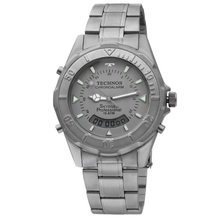 [TimeMob] Relógio Technos Skydiver R$218,40 ou Technos TS Carbon R$299,00 (ambos TITANIUM)