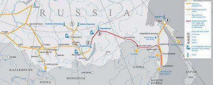 Gazoduct China Rusia
