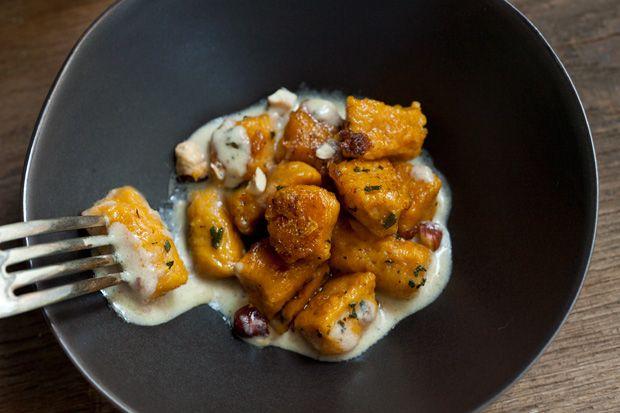 best 25 pumpkin gnocchi ideas on pinterest pumpkin recipes healthy dinner baked sweet. Black Bedroom Furniture Sets. Home Design Ideas