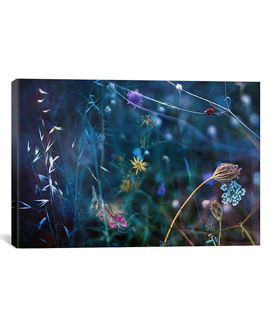 Splendor in The Grass II Wrapped Canvas
