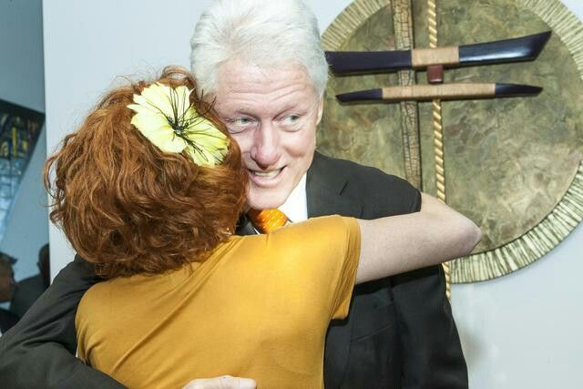 This is Bill Clinton hugging me for sharing some challah. Before CRAFT, I founded a non profit called Challah for Hunger. You can read more in Clinton's book Giving. Give a $50 contribution and I'll bake you challah!