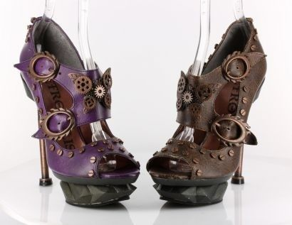 #steampunk #shoes | Steampunk Fashion Shop