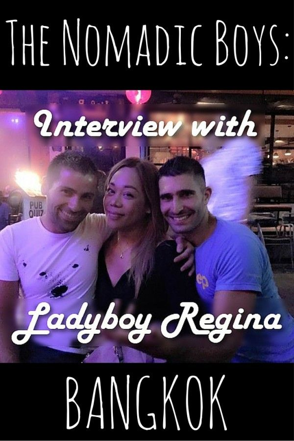 Interview with ladyboy Regina in Bangkok - TheOpportunisticTravelers.com