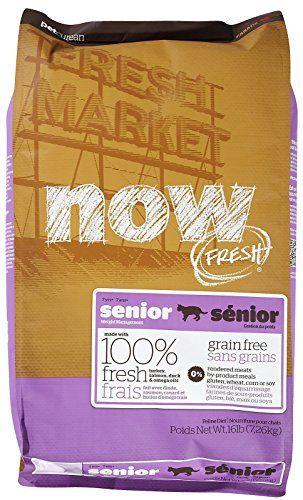 NOW! Fresh Grain Free Food for Senior Cats, 16-Pound Bag 152324
