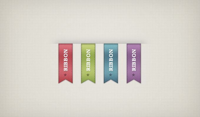 Vertical Ribbons - 365psd