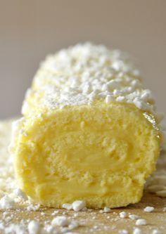 Roulé au citron facile