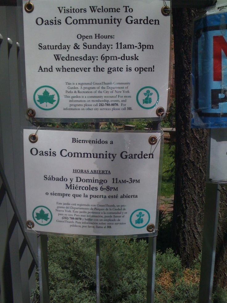 Oasis Community Garden