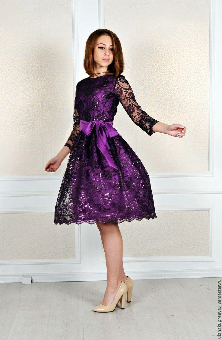 Купить Скидка - 50%Женское платье из кружева - платье, кружевное платье, платье из кружева