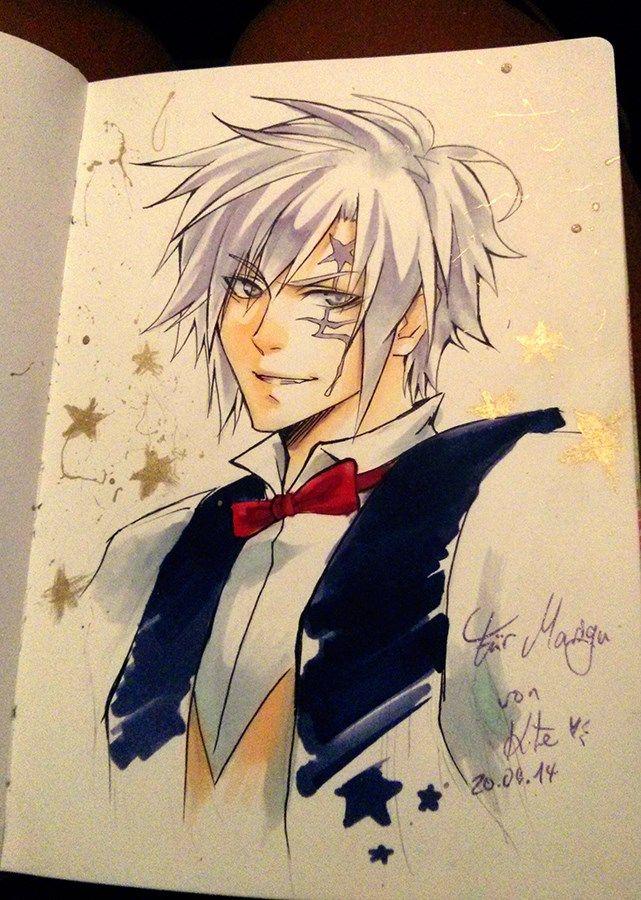 Anime School Book Cover : Allen walker in sketchbook by laovaan viantart on