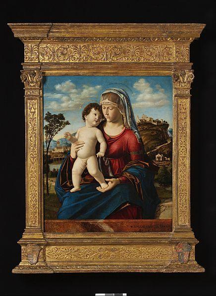 File:Cima da Conegliano - Madonna and Child in a Landscape - Google Art Project.jpg - Wikimedia Commons