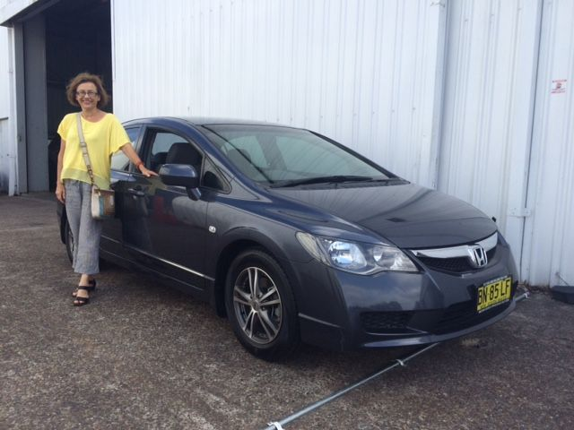 Helen picked up this auto Honda civic today. Thanks for visiting motor vehicle wholesale dot com