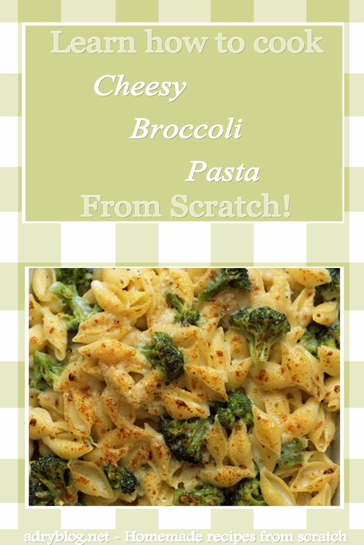 Cheesy pasta with broccoli is an incredibly quick and easy meal to prepare! It's the perfect dish to add broccoli into the diet of picky eaters!