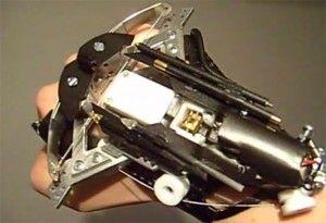 Wrist mounted crossbow