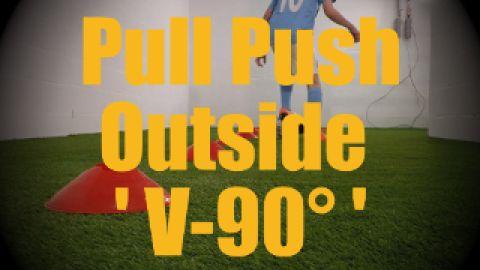 ** Pull Push Outside 'V-90°' - Cones Dribbling Drills for U12-U13 ** http://ultimatesoccermovescollection.com/videos/ball-control/dribbling-cones/147-pull-push-outside-v-90-u12-u13 https://www.youtube.com/c/ultimatesoccermovescollection?sub_confirmation=1 https://www.facebook.com/UltimateSoccerMovesCollection/ https://twitter.com/USoccerMovesCol https://plus.google.com/u/0/+Ultimatesoccermovescollection