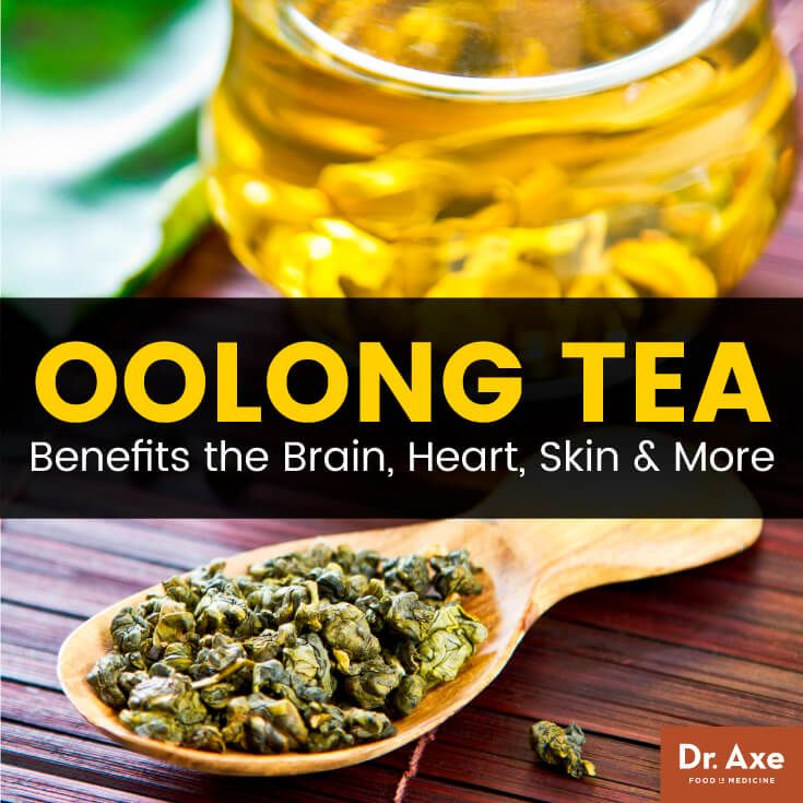 Oolong Tea Benefits the Brain, Heart, Skin & More - Dr. Axe