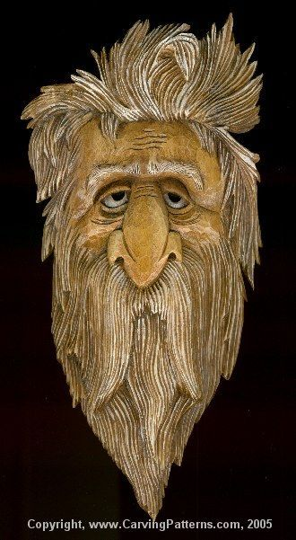 Introduction and Carving – Page 1 By L. S. Irish Wood Graining with Acrylics and Oil Stain – Page 2 Dry Brush and Rouging the Wood Spirit Face – Page 3 This fun Wood Spirit is a r…