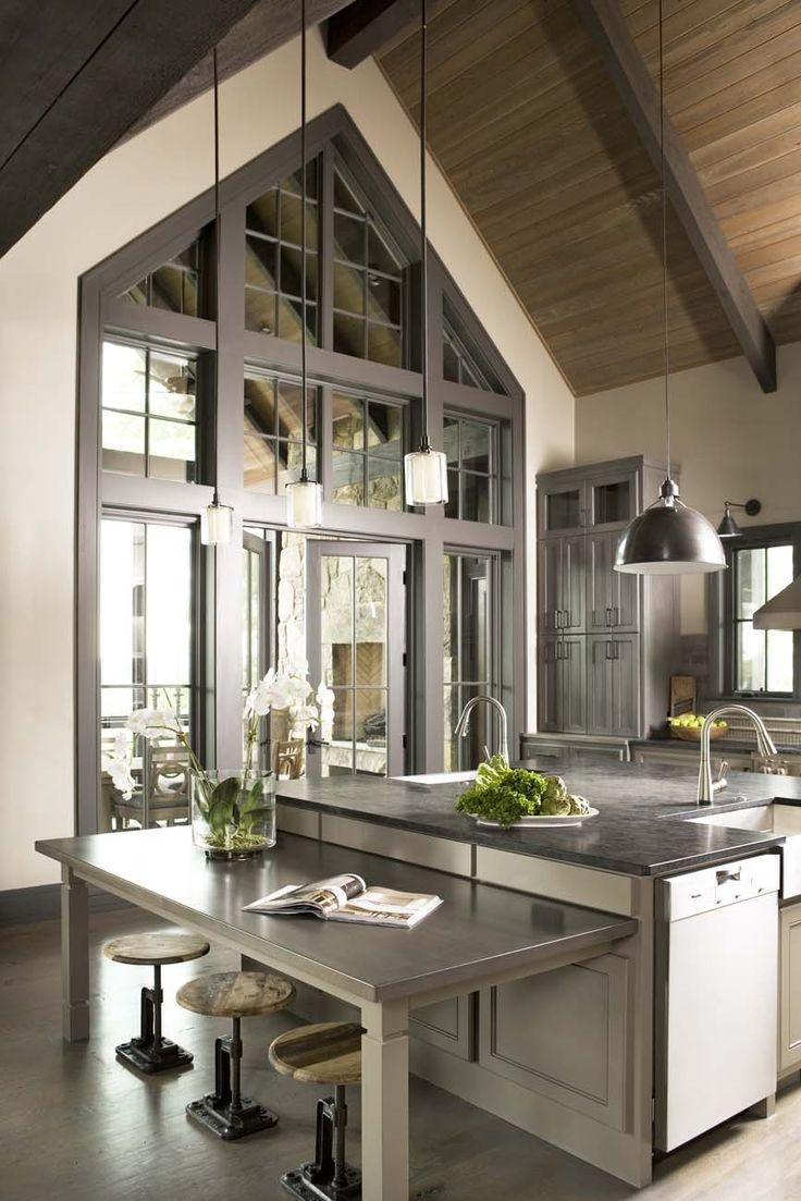 Rustic meets modern kitchen | Linda McDougald