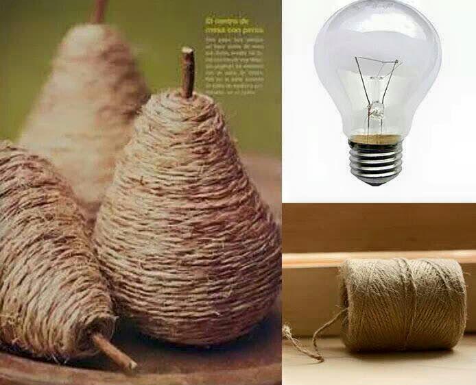 El hilo rústico, (cuerda, o ixtle) se puede usar en infinidad de formas que darán un toque sencillo y artesanal a cualquier objeto. Basta fo...
