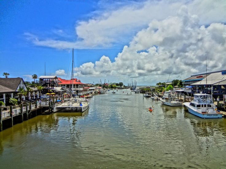 Shem Creek For Boating Kayaking Paddle Boarding And