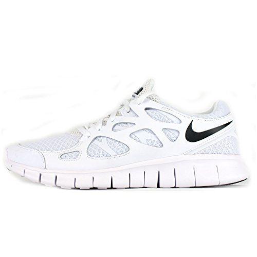 competitive price 058a3 a58a0 ... Nike Free Run 2 NSW weiß - Unisex Damen Herren Laufschuhe mit  Sneaker-Socken ...