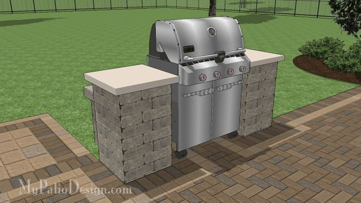 21 best images about grill station and outdoor kitchen for Outdoor cooking station plans