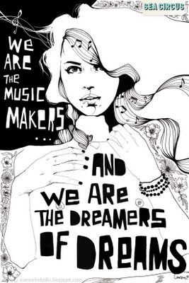 music makers and dreamer of dreams