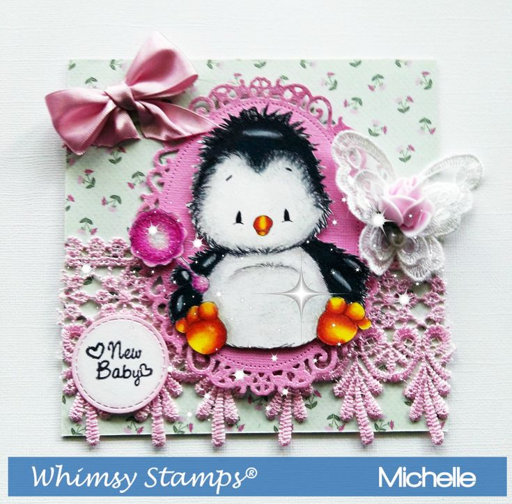 Penguin Baby By Whimsy Stamps