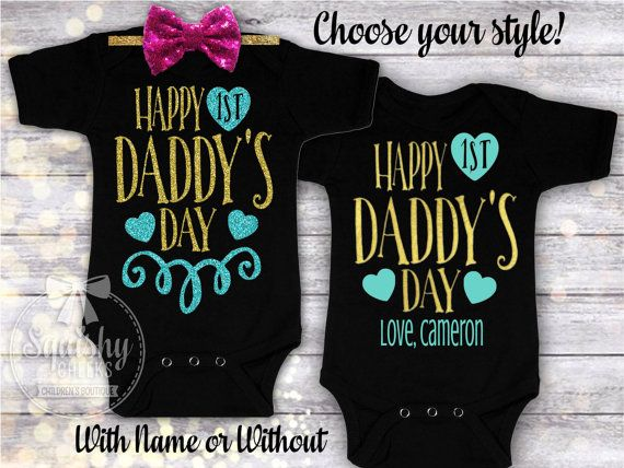 1st Father's Day Father's Day Gift from Baby Boy or