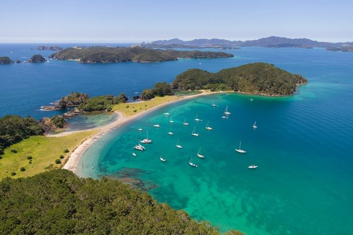 One of the main iconic beaches in the Bay of Islands, Roberton Island. This is a perfect picnic spot and anchorage.