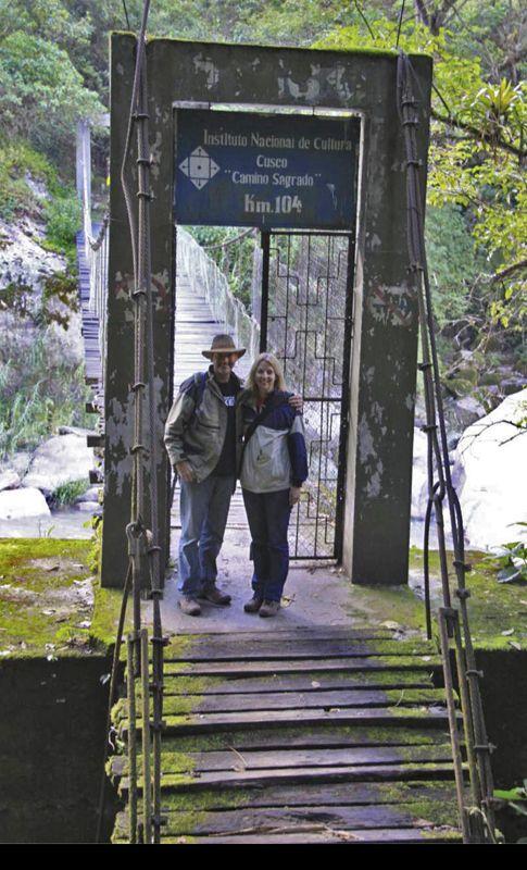Kilometre 104 of the Inca Trail