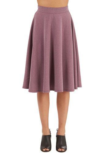 Bugle Joy Skirt in Wisteria | Mod Retro Vintage Skirts | ModCloth.com