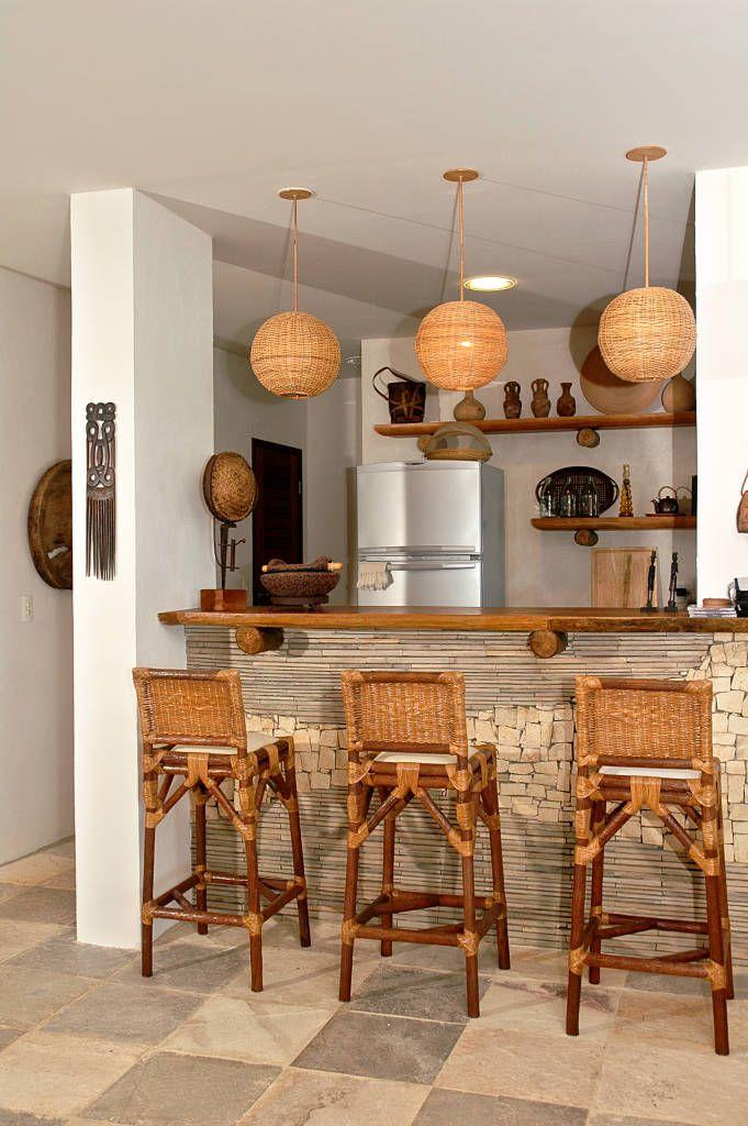 15 Paredes con piedra laja para usar en casa (de Paula Meggiolaro)