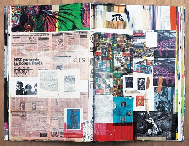 "Shinro Ohtake,  ""dOCUMENTA(13) Materials: 09_Scrap book #67 / Uwajima version"""