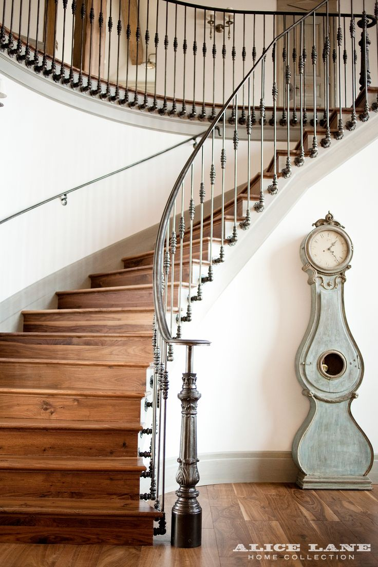 57 best Stairs - Iron images on Pinterest | Entrance hall, Entry ...