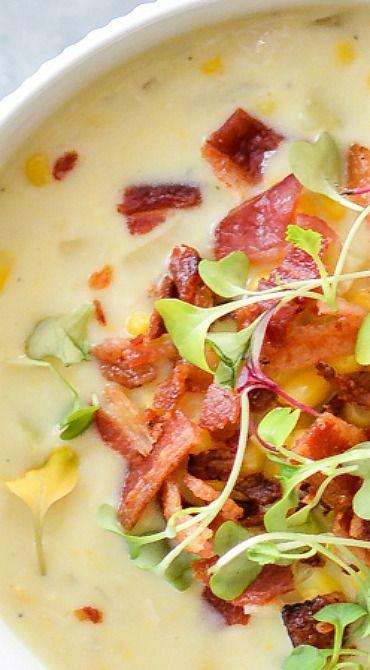 White Bean, Chicken & Corn Chowder Recipe