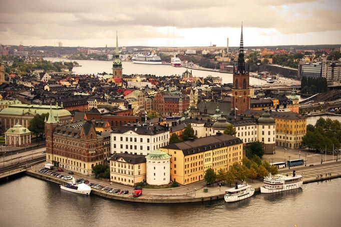 Stockholm, Sweden. Maybe this trip would call for a three-day bag with all the adventures Lonely Planet suggests!