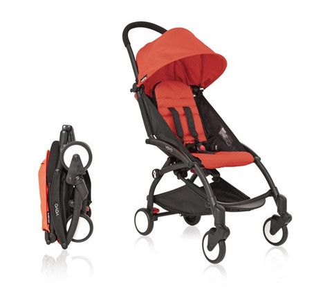Babyzen YOYO stroller is lightweight and portable. Can even be stowed in aircraft overhead lockers! (Check your airline allows it).
