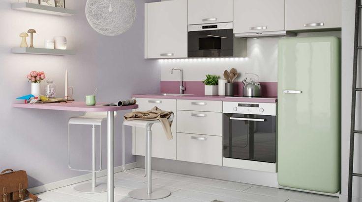 20 id es pour une petite cuisine fonctionnelle photos for Idee cuisine fonctionnelle