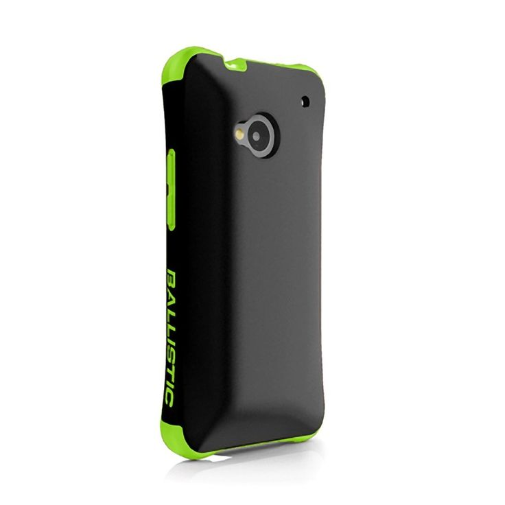 Ballistic Aspira Case for HTC One (M7)  (Color: Black/Lime Green)  $23 on Amazon for this color