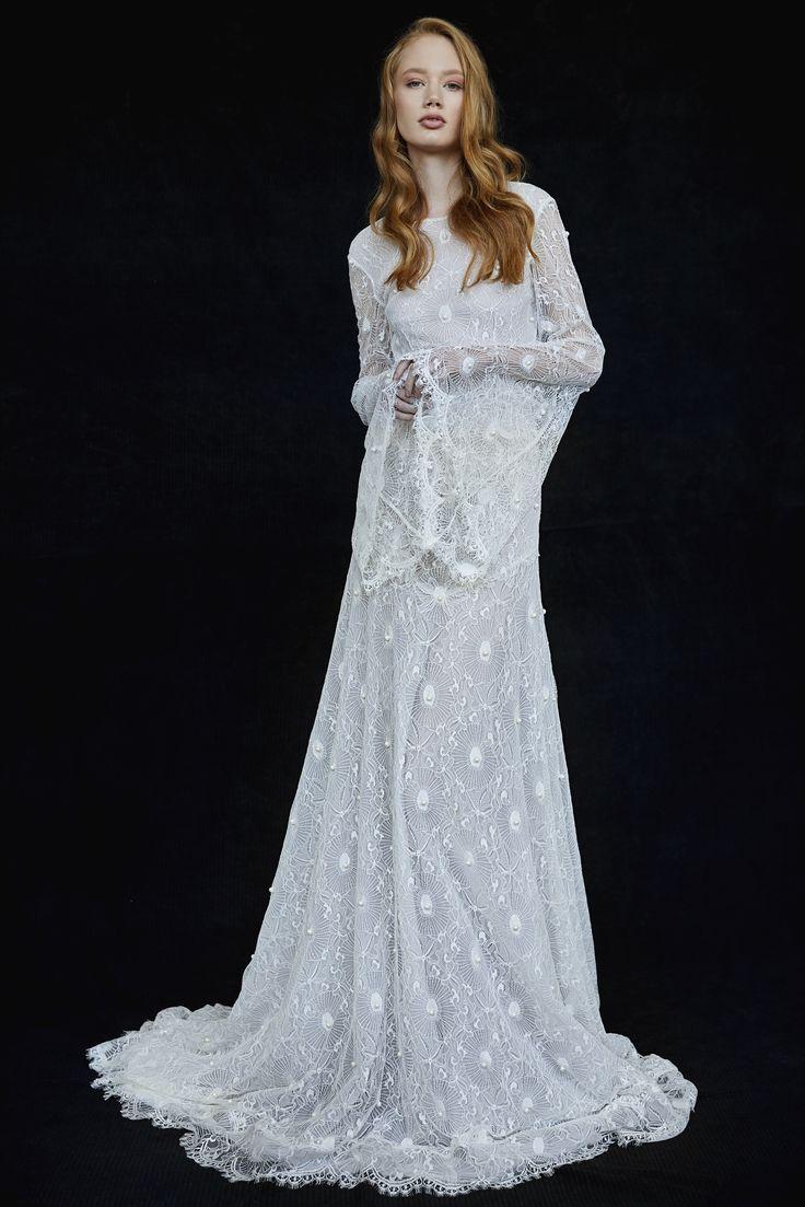 Zoe Wedding Gown #ZoeWeddingGown #OtiliaBrailoiuAtelier #weddingdress