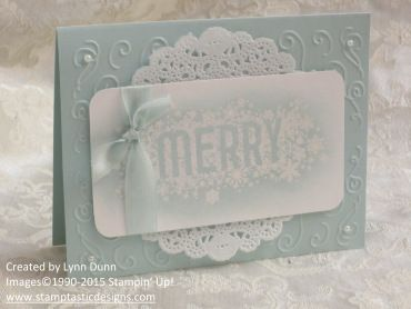 1/12/2015 Use the Love stamp from same set with this embellishment. Think I will do just that. Seasonally Scattered