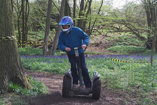 Segways: the final frontier. To boldly go where no man has gone before… OK, that's not quite how it goes. But let's face it: you've travelled from A to B in everything from trains, planes to automobiles, so why not try the Seg-way?